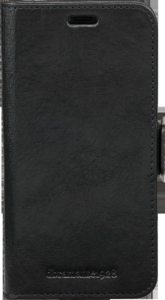 Etui folio Lynge Dbramante1928 en cuir noir pour iPhone X 488acc32368