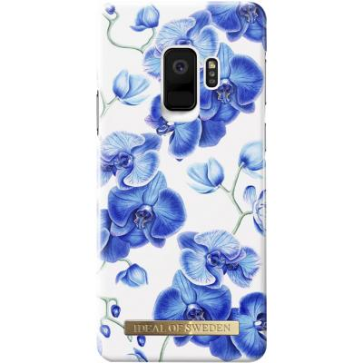 Coque Fashion Baby Blue Orchid de Ideal Of Sweden pour Samsung Galaxy S9 G960
